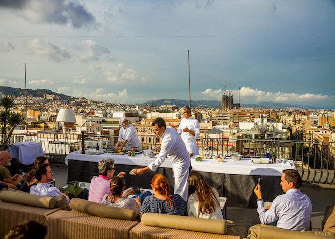 semana de las terrazas barcelona mjestic hotel