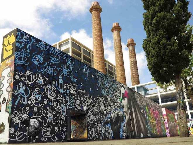 Owen, Dire & Soklak graffiti barcelona