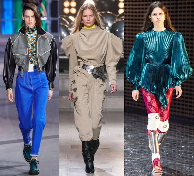 moda mangas abullonadas invierno 2020