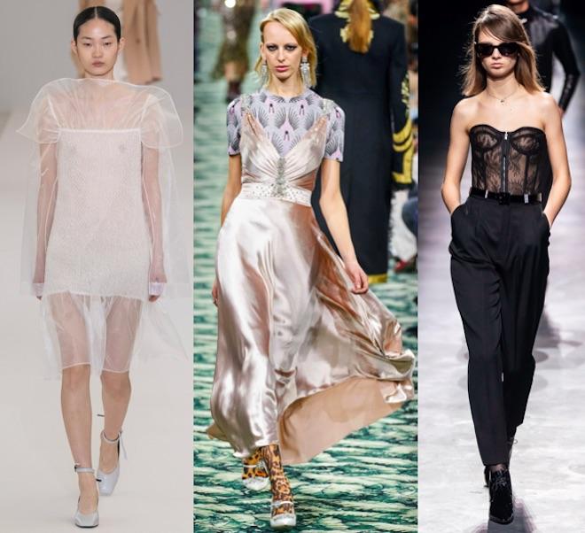 moda otono 2019 lingerie