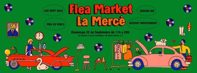 rastrillo flea market barcelona