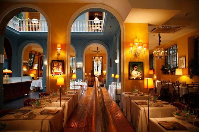 restaurante senyor parellada barcelona