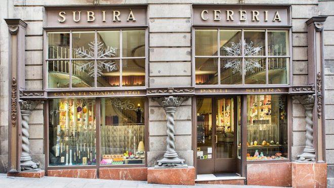 fachada antigua Cereria-Subira