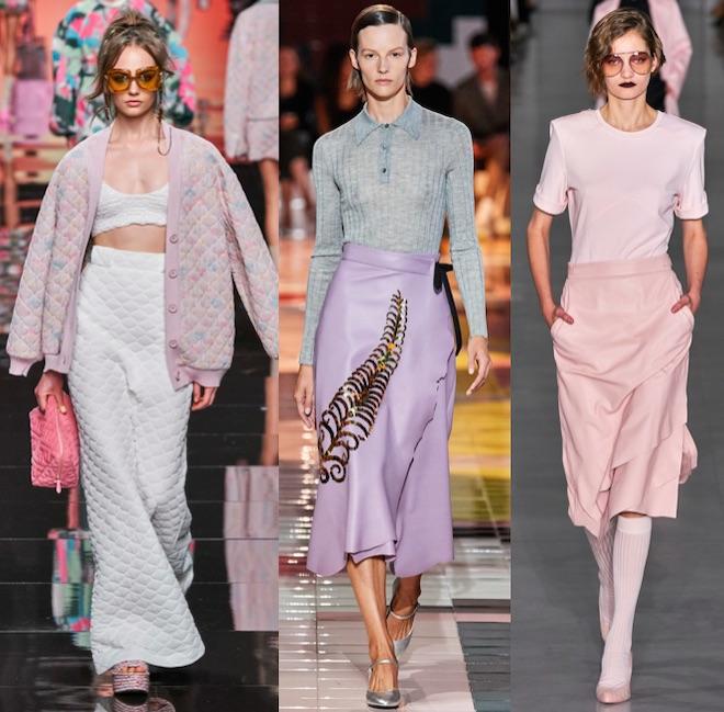 moda colores pastel primavera 2020