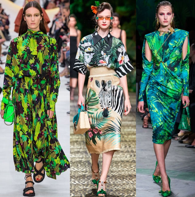 moda estampado tropical pv 2020
