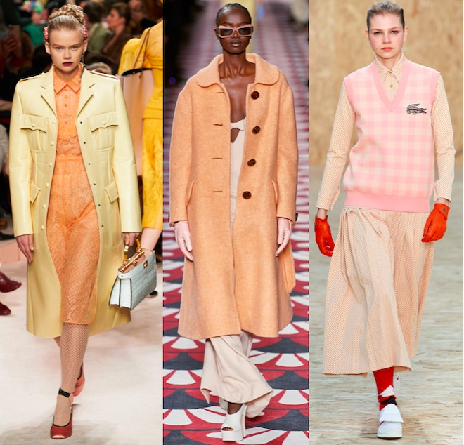 color trend pantone peach 2021