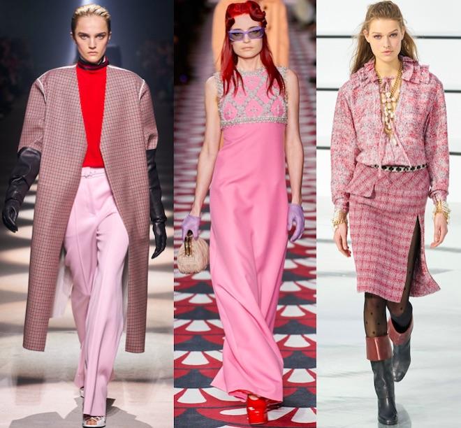 colores moda invierno rosa