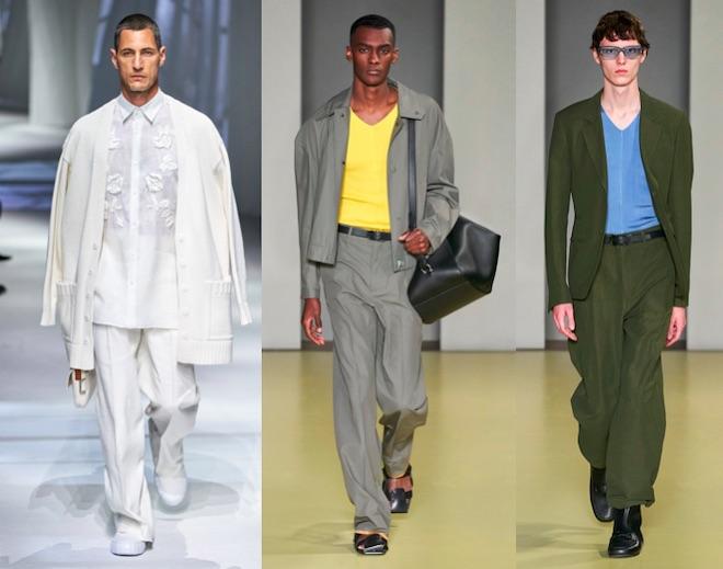 moda masculina 2021 trajes holgados