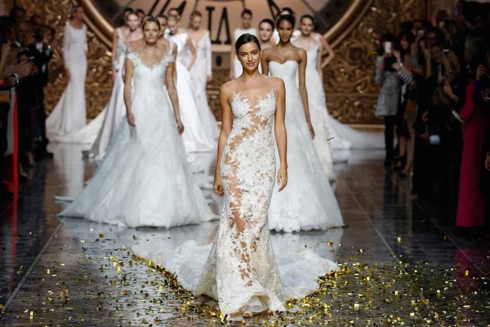 © Barcelona Bridal Week. La estrella de la noche fue  la top model rusa Irina Shayk