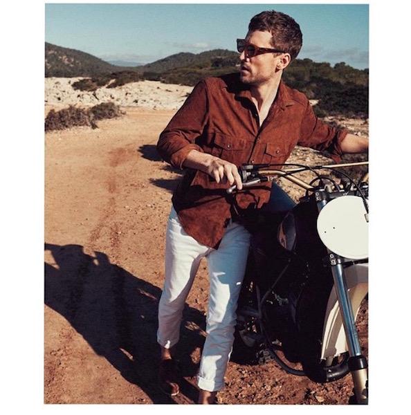 © Mango Man. El modelo George Barnett en la campaña SS16