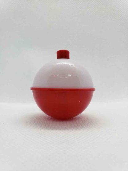 Red and White Bobber