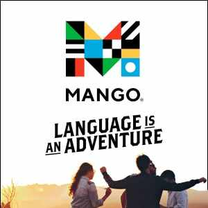 Mango—Language Is an Adventure web banner