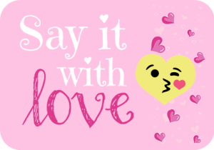 say it with love event image