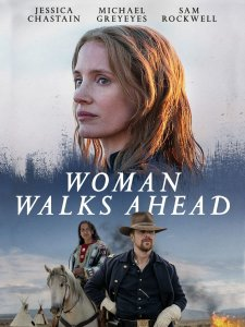 Woman Walks Ahead DVD cover