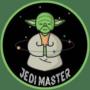 Jedi Master badge