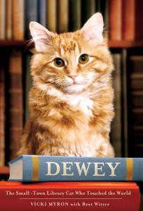 Dewey: The Small Town Cat Who Touched The World Book Cover