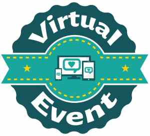 Virtual Event Stcker
