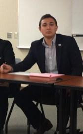 Clayton Fowler, President, SGA