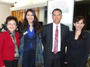 Karen Goh, Nancy Solis-Vargas, Marco Vasquez, Sonya Christian