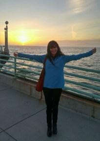 Sonya Christian Manhatten Beach day before CA Guided Pathways Advisory Committee