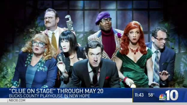 NBC10 – 'Clue' Brings Mystery To The Stage