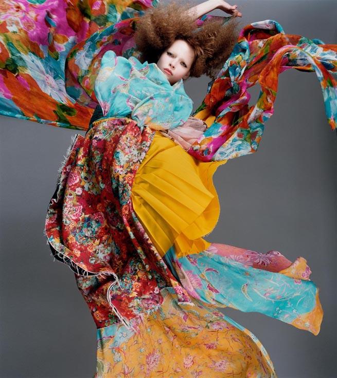 Bloom - Polina Kouklina by Photographer Sølve Sundsbø