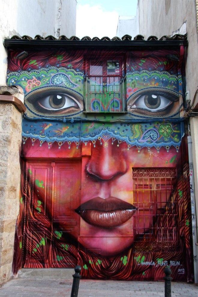 Graffiti by Belin and Anarchy Boladona