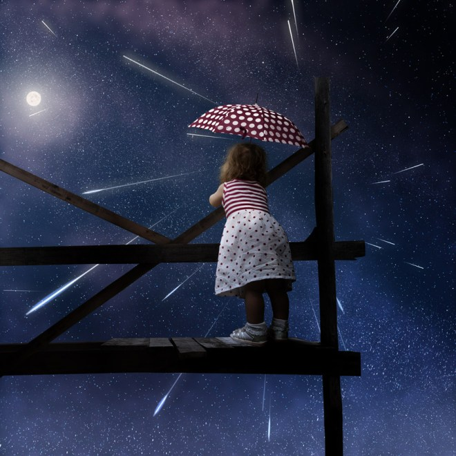 Dream of a Little Girl by Caras Ionut