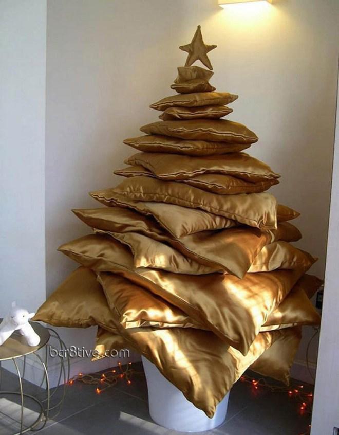 Gold Pillow Tree