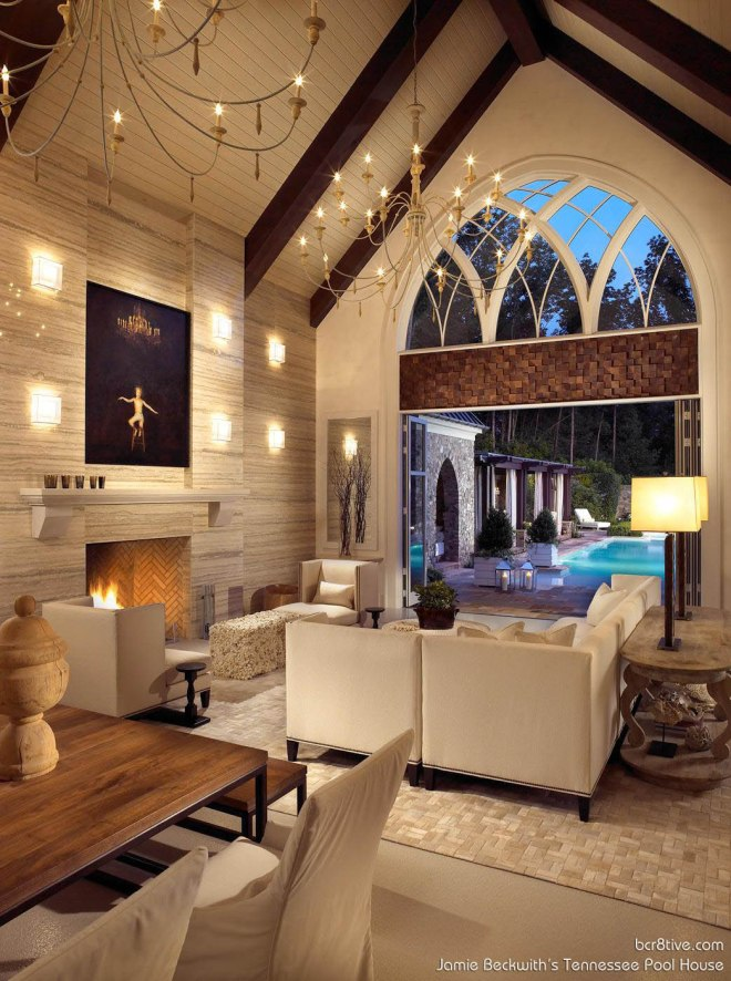 Beckwith Interiors Pool House