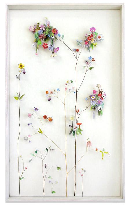 3D Botanical Flower Constructions by Anne Ten Donkelaar - Flower construction #12