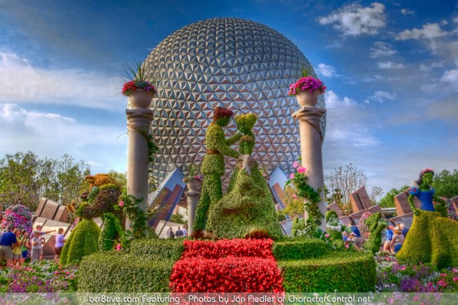 Walt Disney World April 2009 - EPCOT Flower and Garden Festival - by Jon Fiedler