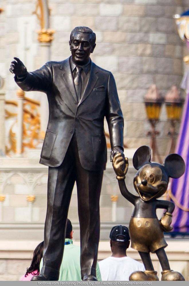 Magic Kingdom, Walt Disney World, Orlando, FL Feb 23rd, 2012 - Walt and Mickey - Photo by Jon Fiedler