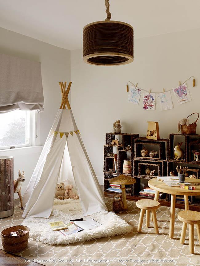 San Anselmo Play Room by Jute Interior Design