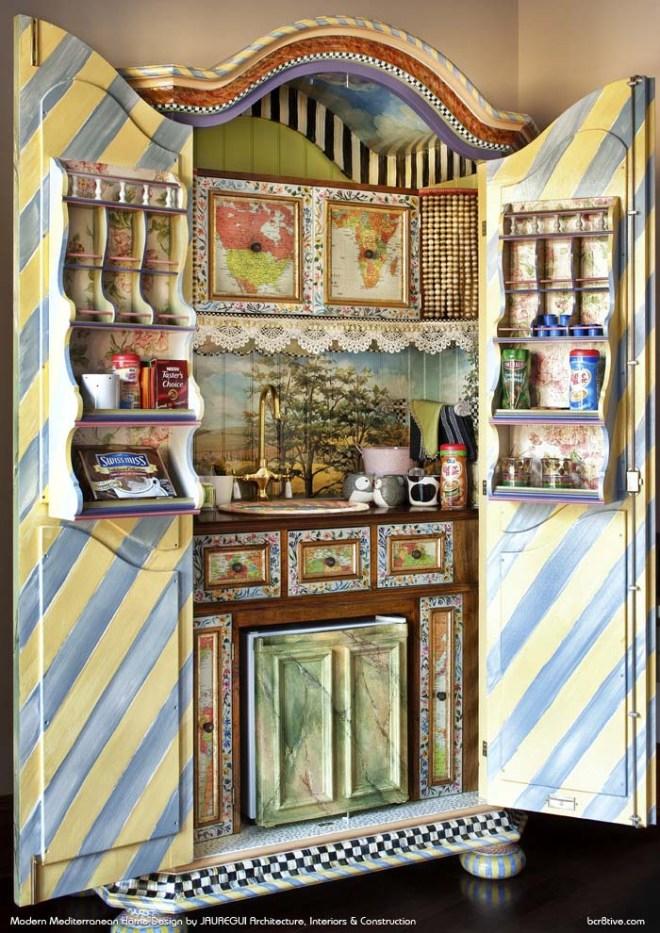 JAUREGUI Architecture, Interiors & Construction - Eclectic Kitchen Cabinets