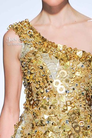 Jack Guisso Spring 2011 Couture Details