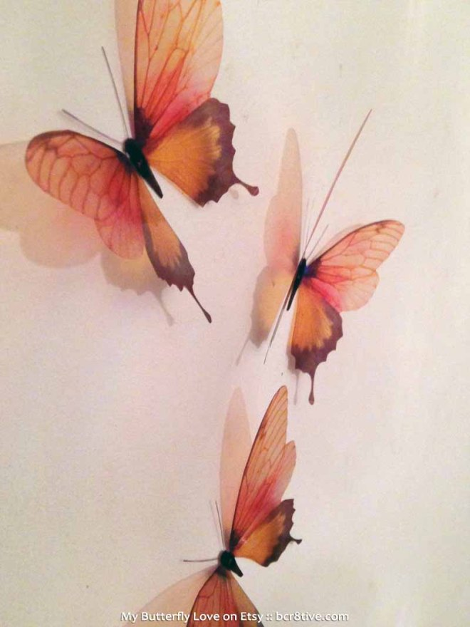 Butterfly Wall Art by MyButterflyLove - Creative Butterfly Decor
