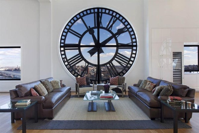 One Clock in the Clock Tower Penthouse New York