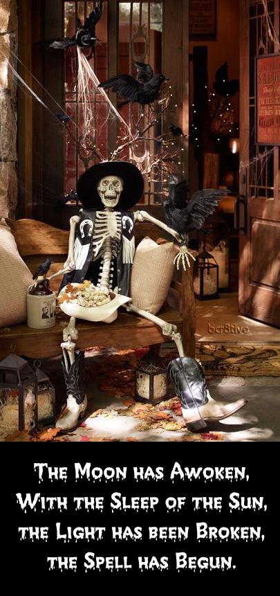 Mr. Bones - Life Sized Skeleton   Pottery Barn