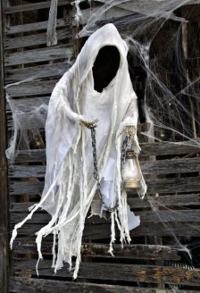 Spooky Halloween Ghost Yard Decoration