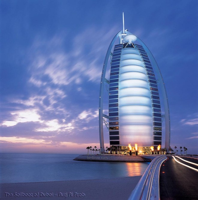 The Sailboat of Dubai - Burj Al Arab Jumeirah