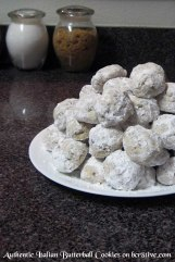 Authentic Italian Butterball Cookies