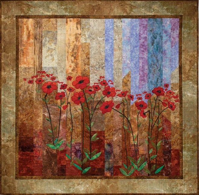 Cathy Geier Midnight Poppies