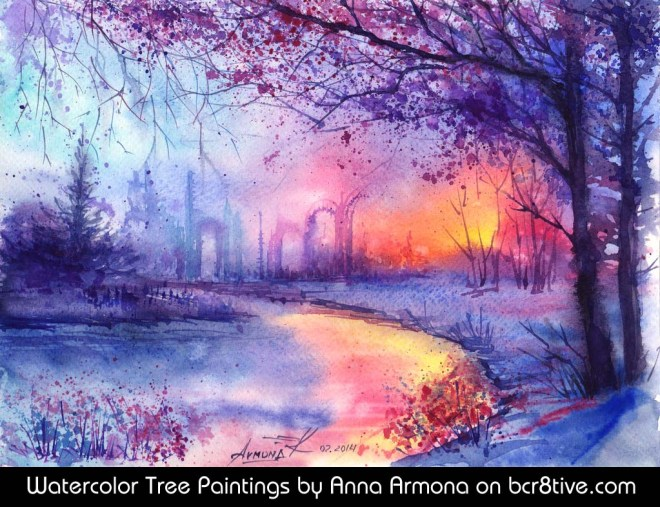 Evening Flame by Anna Armona