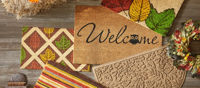 Style your Stoop with Decorative Door Mats