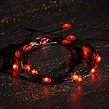 LED String Lights - Orange