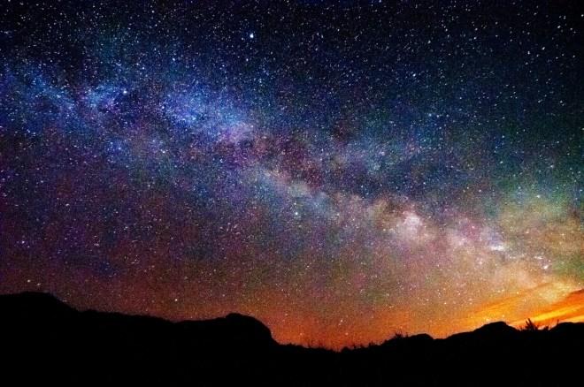Starry Night Sky by Aslinah Safar