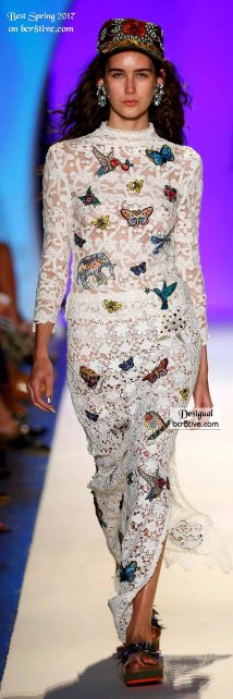 Desigual - The Best Looks from New York Fashion Week Spring 2017