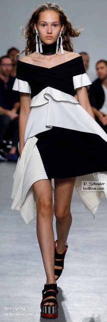 Proenza Schouler - The Best Looks from New York Fashion Week Spring 2017