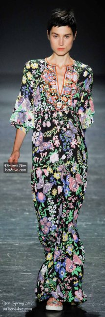 Vivienne Tam - The Best Looks from New York Fashion Week Spring 2017